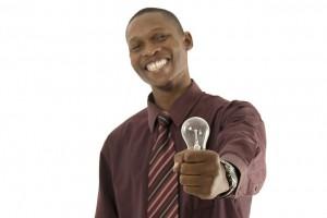 africaniscool. (2014). Pixabay. Man, African, laughing, idea, light bulg, electric bulb. Retrieved from http://pixabay.com/en/man-african-laughing-idea-319282/. License: CCO Public Domain/ FAQ
